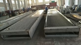 Fine Mechanical Bar Screen For Food Processing Wastewater , Bar Screen Rake